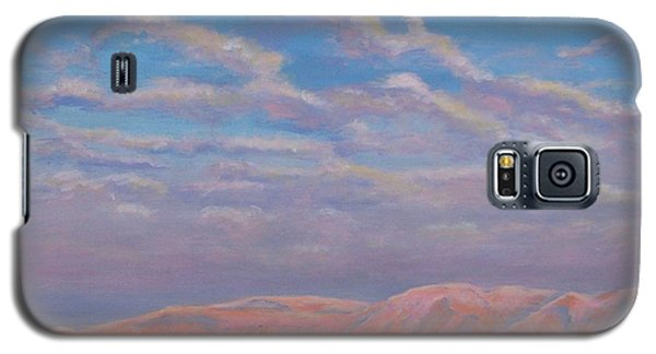 Sunset On The Dead Sea In Israel Galaxy S5 Case