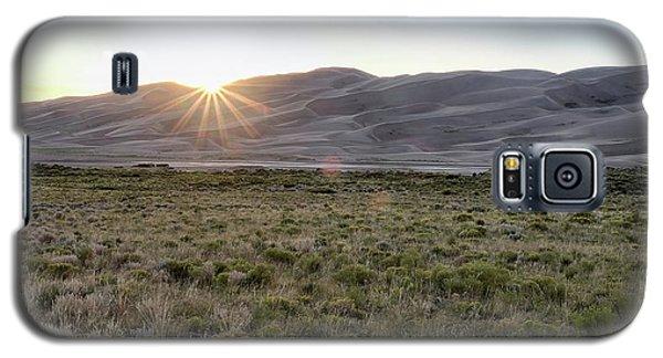 Sunset On The Dunes Galaxy S5 Case