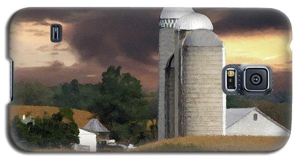 Sunset On The Farm Galaxy S5 Case