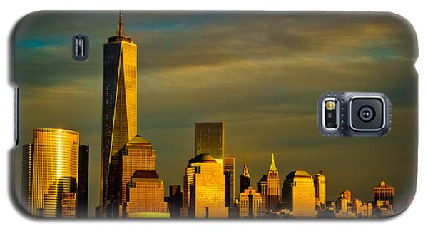 Sunset On The Financial District Galaxy S5 Case