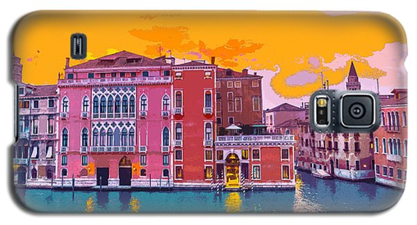 Sunset On The Grand Canal Venice Galaxy S5 Case