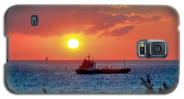 Sunset On The Horizon Galaxy S5 Case
