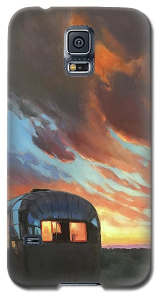 Sunset On The Mesa Galaxy S5 Case