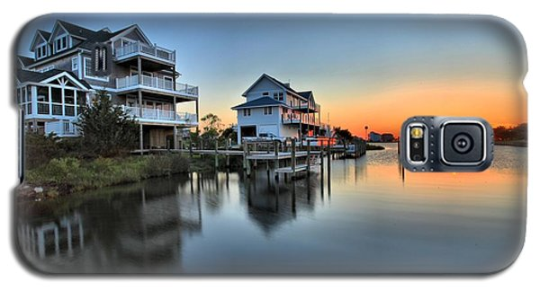 Sunset On The Obx Sound Galaxy S5 Case