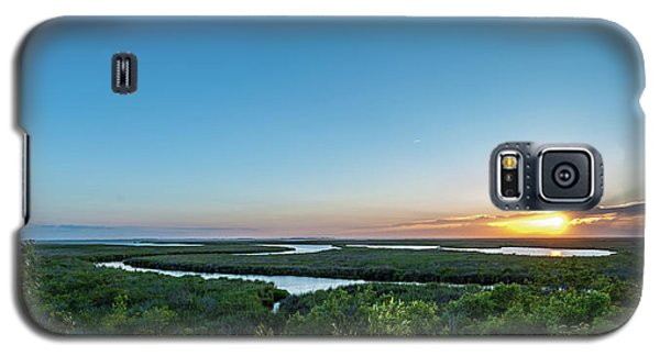 Sunset On The Outer Banks Galaxy S5 Case