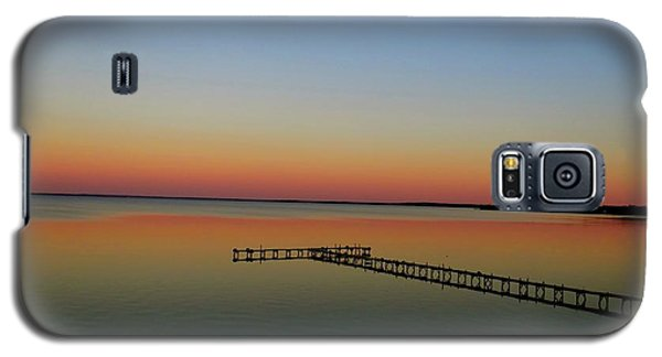 Sunset On The Pier Galaxy S5 Case