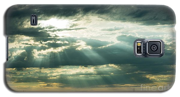 Sunset On The Plains Galaxy S5 Case by MaryJane Armstrong