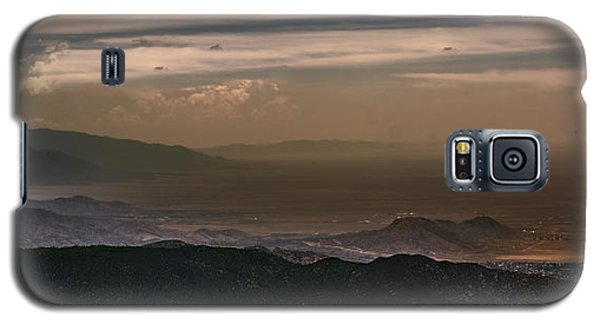 Sunset On The Sandias Galaxy S5 Case