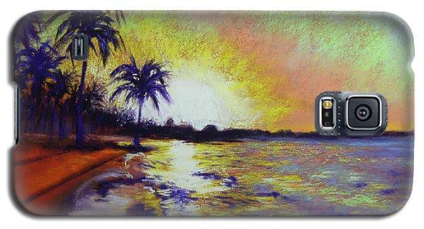 Sunset On The Sea Galaxy S5 Case