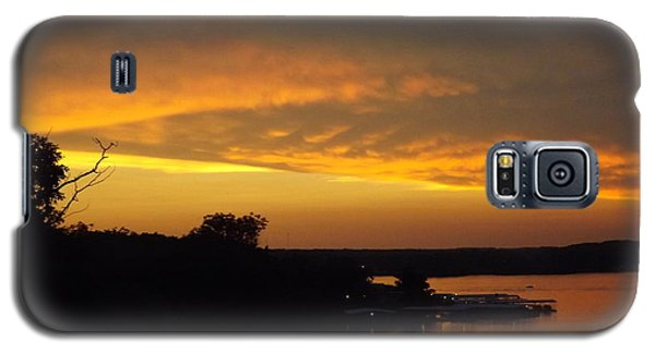 Sunset On The Shore  Galaxy S5 Case by Don Koester