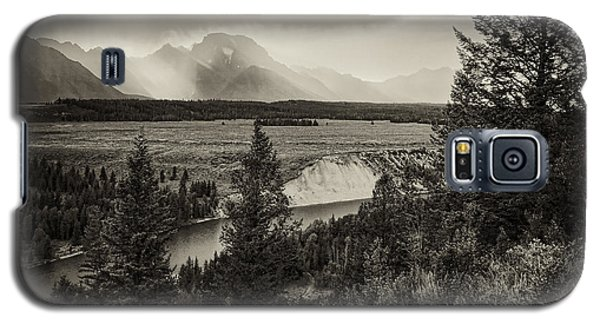 Sunset On The Snake River Galaxy S5 Case