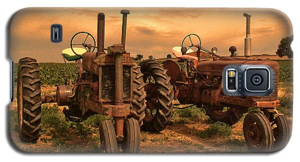 Sunset On The Tractors Galaxy S5 Case