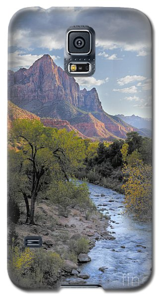Sunset On The Watchman Galaxy S5 Case
