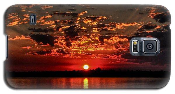 Sunset On The Zambezi Galaxy S5 Case