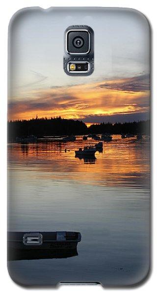 Sunset On Vinalhaven Maine Galaxy S5 Case