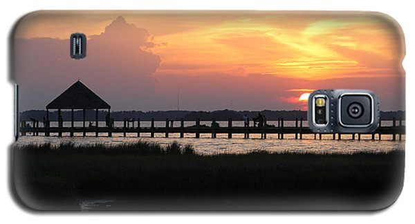 Sunset On Wetlands Walkway Galaxy S5 Case