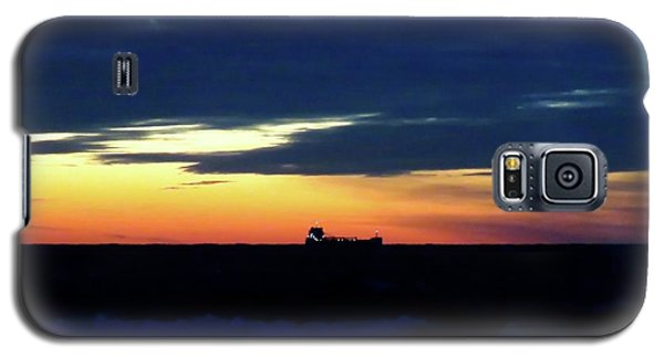 Sunset On Winter Solstice Eve Galaxy S5 Case