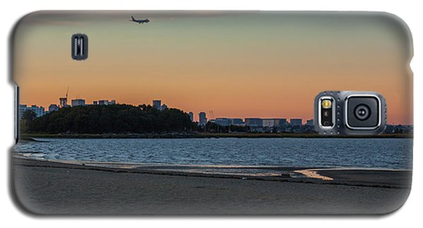 Sunset On Wollaston Beach In Quincy Massachusetts Galaxy S5 Case