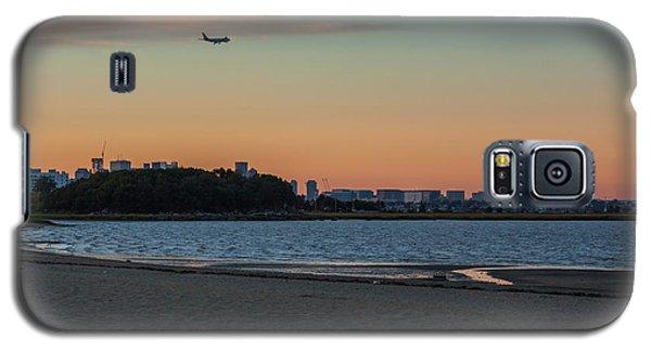 Sunset On Wollaston Beach In Quincy Massachusetts Galaxy S5 Case