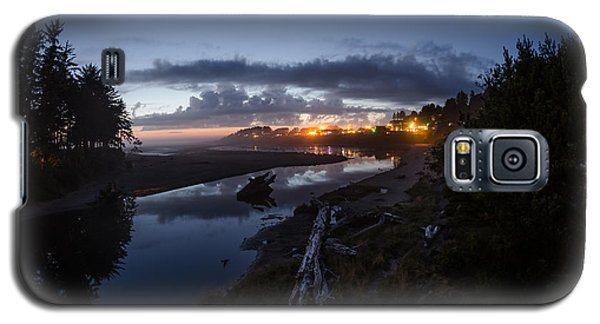 Sunset On Yachats River Galaxy S5 Case