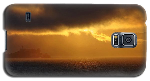 Sunset Over Alcatraz Galaxy S5 Case