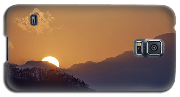 Galaxy S5 Case featuring the photograph Sunset Over Asia  by Rikk Flohr