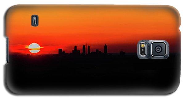 Sunset Over Atlanta Galaxy S5 Case