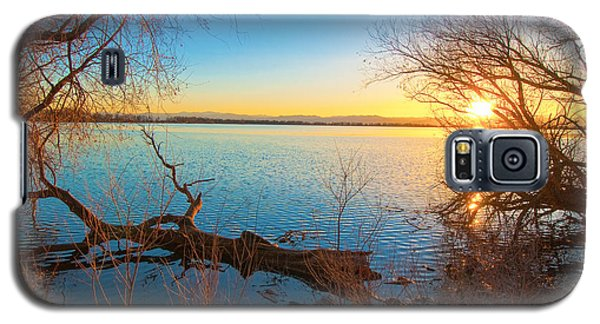 Sunset Over Barr Lake Galaxy S5 Case by Tom Potter