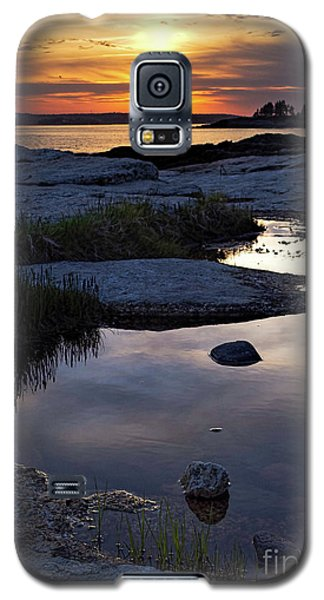Sunset Over Boothbay Harbor Maine  -23095-23099 Galaxy S5 Case