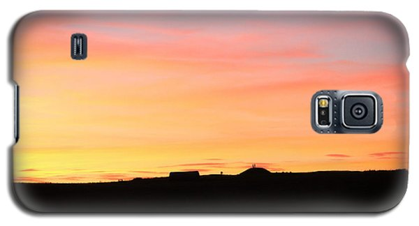 Sunset Over Cairnpapple Galaxy S5 Case