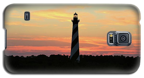 Sunset Over Cape Hatteras Light Galaxy S5 Case