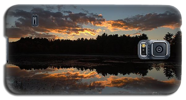 Sunset Over Cranberry Bogs Galaxy S5 Case