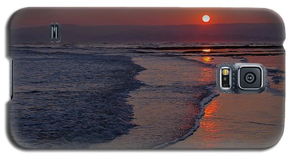 Sunset Over Exmouth Beach Galaxy S5 Case