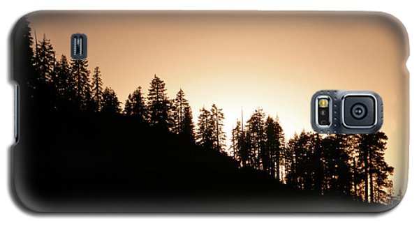Sunset Over Glacier Point Galaxy S5 Case