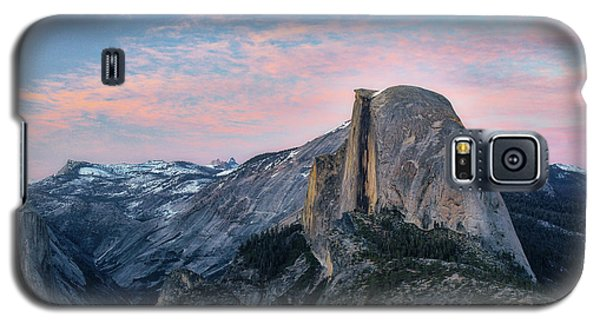 Sunset Over Half Dome Galaxy S5 Case