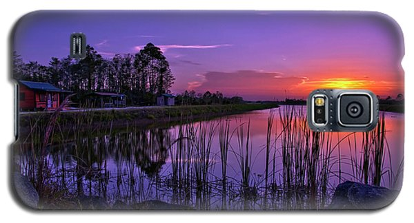 Sunset Over Hungryland Wildlife Management Area Galaxy S5 Case