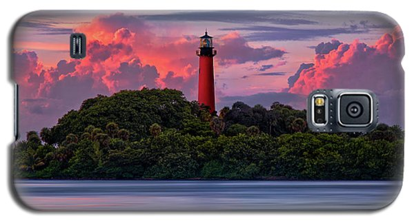 Sunset Over Jupiter Lighthouse, Florida Galaxy S5 Case by Justin Kelefas