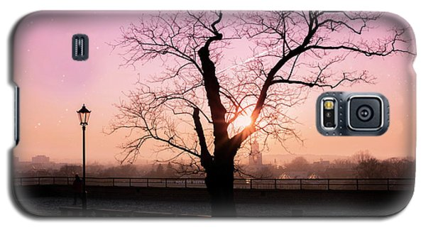 Galaxy S5 Case featuring the photograph Sunset Over Krakow by Juli Scalzi