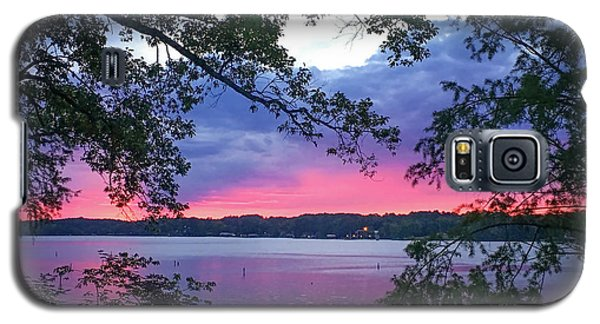 Sunset Over Lake Cherokee Galaxy S5 Case