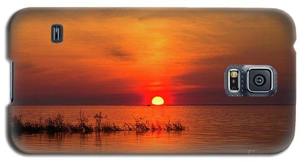 Sunset Over Lake Michigan Galaxy S5 Case