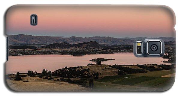 Sunset Over Lake Wanaka In New Zealand Galaxy S5 Case