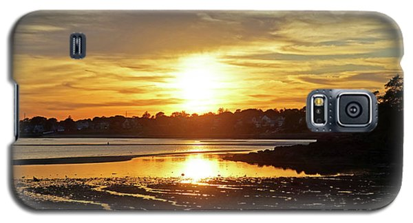 Sunset Over Lynch Park Beverly Ma Galaxy S5 Case