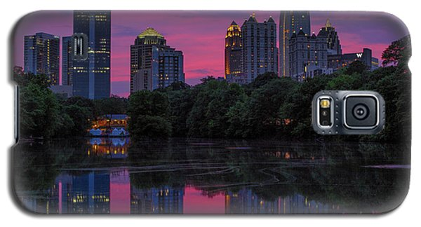 Sunset Over Midtown Galaxy S5 Case