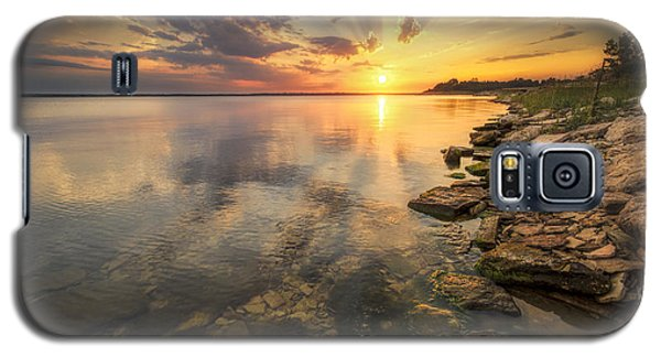 Sunset Over Milford Lake Galaxy S5 Case