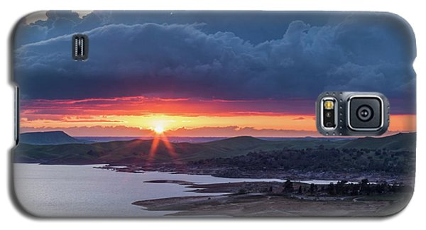 Sunset Over Millerton Lake  Galaxy S5 Case