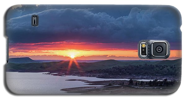 Sunset Over Millerton Lake  Galaxy S5 Case