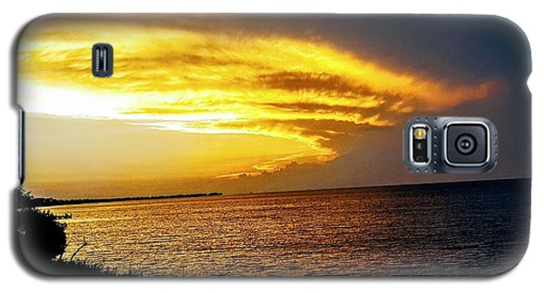 Sunset Over Mobile Bay Galaxy S5 Case