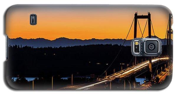 Sunset Over Narrrows Bridge Panorama Galaxy S5 Case