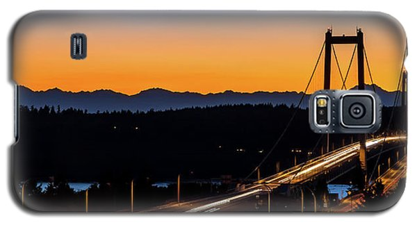 Sunset Over Narrrows Bridge Panorama Galaxy S5 Case