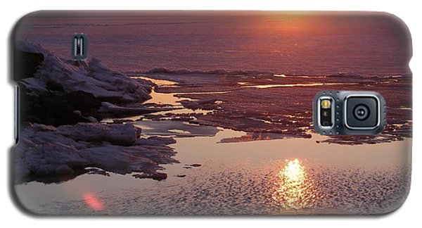 Sunset Over Oneida Lake - Horizontal Galaxy S5 Case